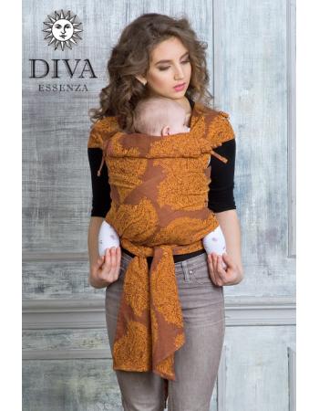 Diva Essenza Mei Tai 100% cotton: Terracotta
