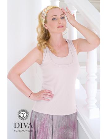 Nursing Top Diva Nursingwear Eva, Bianco