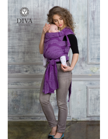 Diva Essenza Mei Tai 100% cotton: Viola