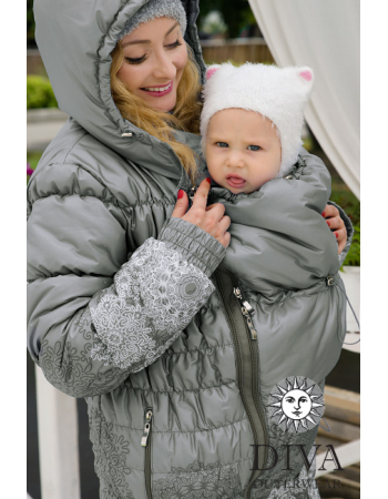Babywearing Winter Coat 3 in 1, Pietra