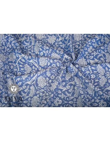 Rose 100% Cotton: Azzurro