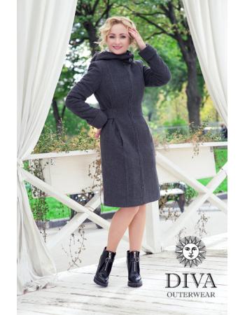 Babywearing Wool Winter Coat, Antracite