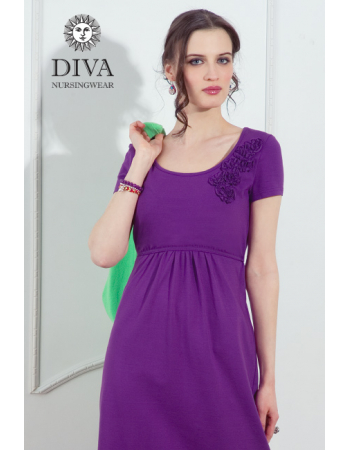 Nursing Dress Diva Nursingwear Dalia, Viola