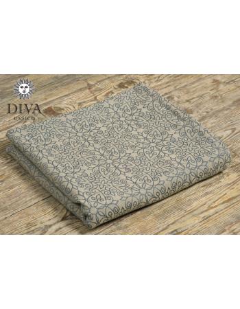Diva Basico 100% cotton: Damasco Ring Sling