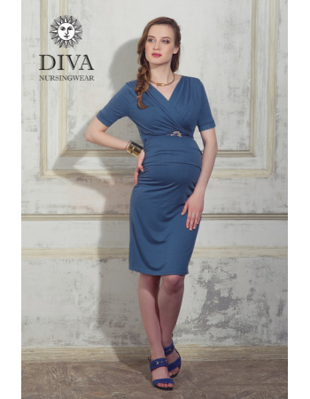 Nursing Dress Diva Nursingwear Lucia, Notte