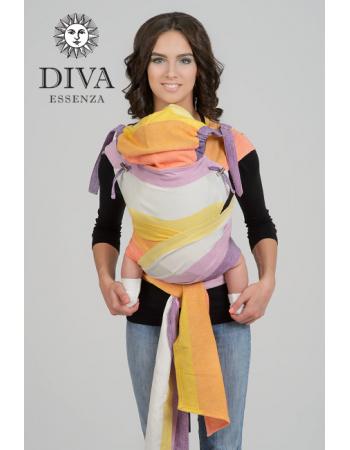 Diva Essenza Mei Tai 100% cotton twill weave: Mattina