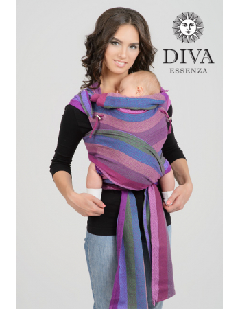 Diva Essenza Mei Tai 100% cotton diamond weave: Musa