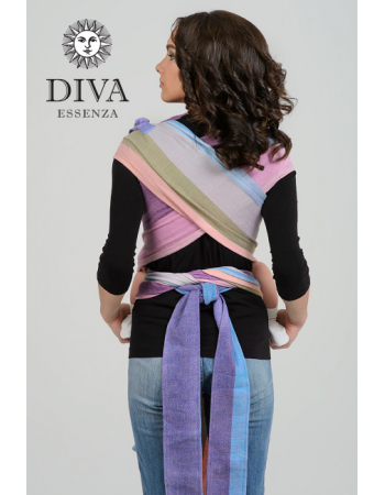 Diva Essenza Mei Tai 100% cotton twill weave: Porto