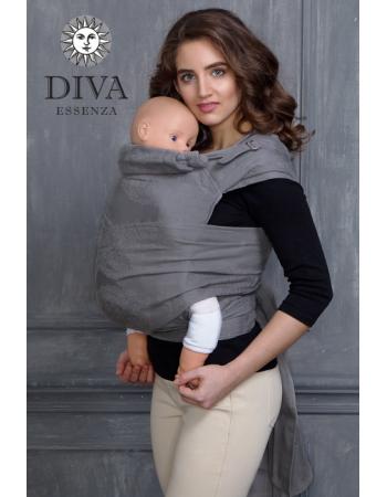 Diva Toddler Mei Tai 100% cotton: Argento
