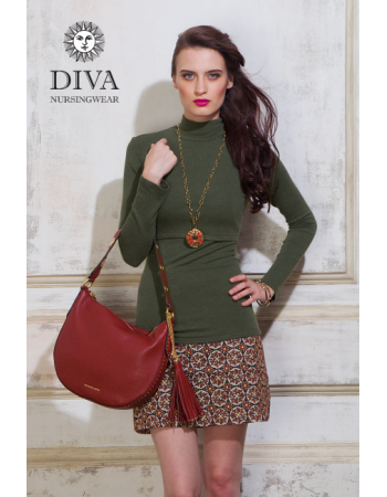 Nursing Top Diva Nursingwear Felisa, Oliva