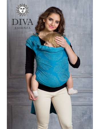 Diva Toddler Mei Tai 100% cotton: Lago