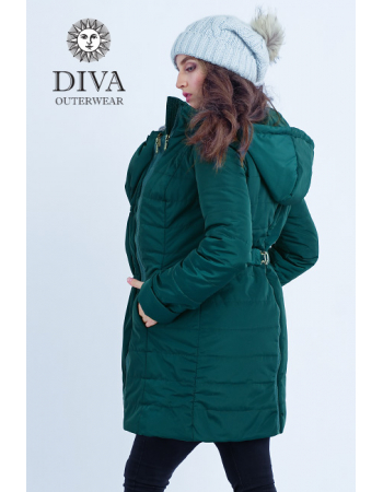 Babywearing Winter Coat 4 in 1 with a Back-Carry Option, Mare