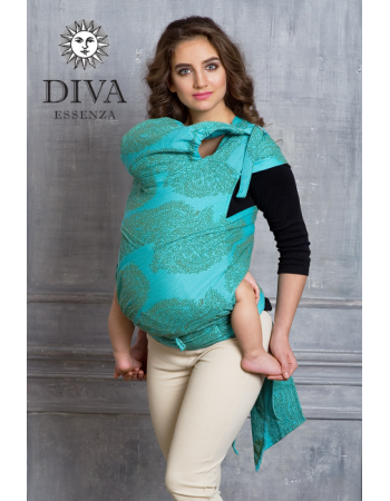 Diva Toddler Mei Tai 100% cotton: Menta