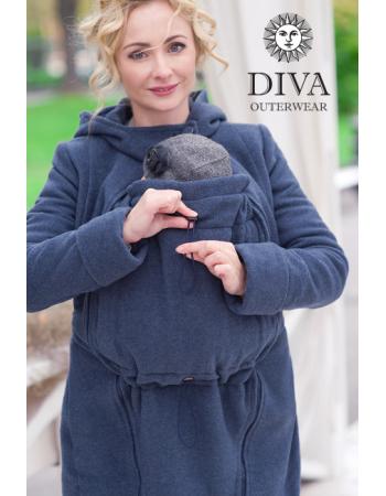 Babywearing Wool Winter Coat, Notte