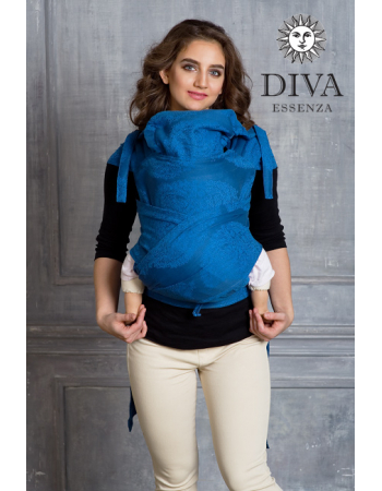 Diva Toddler Mei Tai 100% cotton: Oltremare