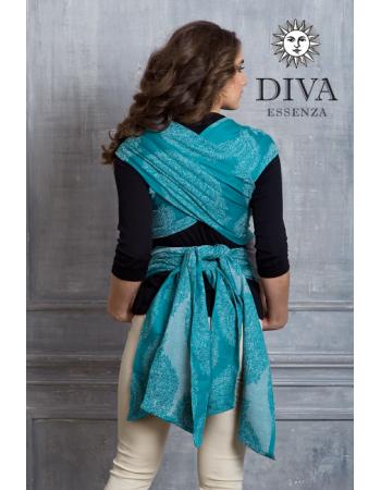 Diva Toddler Mei Tai 100% cotton: Smeraldo