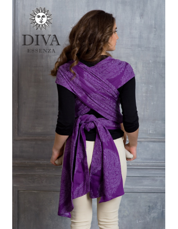 Diva Toddler Mei Tai 100% cotton: Viola