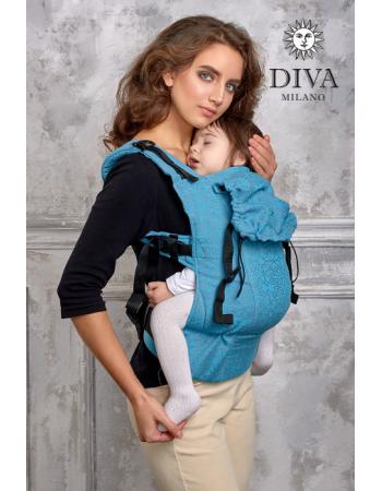 Diva Basico Wrap Conversion Buckle Carrier: Lago