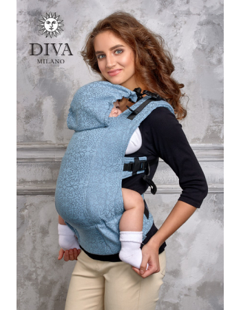 Diva Basico Wrap Conversion Buckle Carrier: Luna