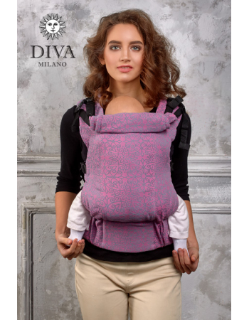 Diva Basico Wrap Conversion Buckle Carrier: Perla