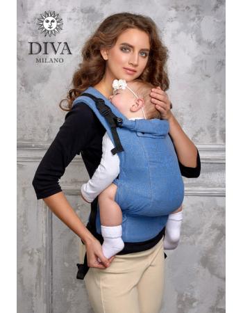 Diva Basico Wrap Conversion Buckle Carrier: Zaffiro