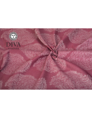 Diva Essenza Berry Linen Ring Sling