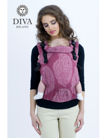 Diva Essenza Wrap Conversion Buckle Carrier: Berry, The One!