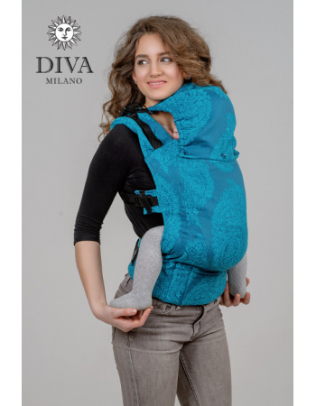 Diva Essenza Wrap Conversion Buckle Carrier: Ceruleo