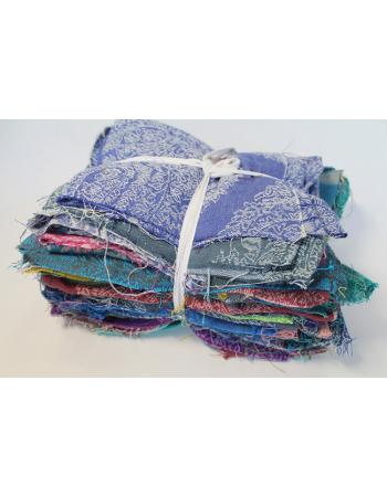 Diva Essenza Wrap Scraps, 2-colored Linen Blend, 1kg