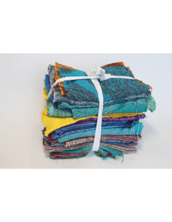Diva Essenza Wrap Scraps, 2-colored All Cotton, 1kg