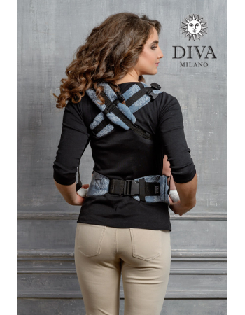 Diva Essenza Wrap Conversion Buckle Carrier: Eclipse