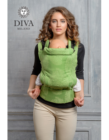 Diva Essenza Wrap Conversion Buckle Carrier: Erba