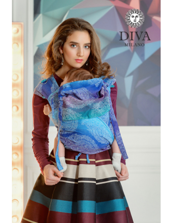 Diva Essenza Mei Tai 100% cotton: Fantasia
