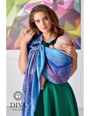 Diva Essenza 100% cotton: Fantasia Ring Sling