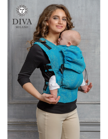 Diva Essenza Wrap Conversion Buckle Carrier: Lago