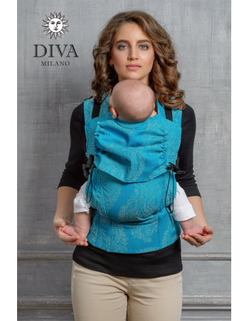 Diva Essenza Wrap Conversion Buckle Carrier: Berry