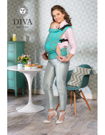 Diva Essenza Wrap Conversion Buckle Carrier: Menta