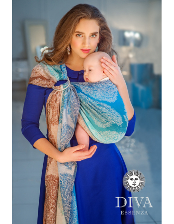 Diva Essenza 100% cotton: Oceano Ring Sling
