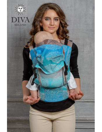 Diva Essenza Wrap Conversion Buckle Carrier: Oceano