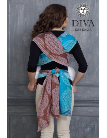 Diva Toddler Mei Tai 100% cotton: Oceano