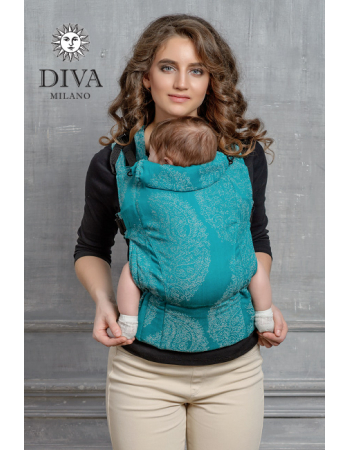 Diva Essenza Wrap Conversion Buckle Carrier: Smeraldo