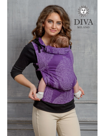 Diva Essenza Wrap Conversion Buckle Carrier: Viola