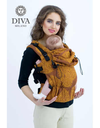 Diva Essenza Wrap Conversion Buckle Carrier: Terracotta, The One!