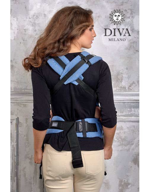 Diva Basico Wrap Conversion Buckle Carrier Zaffiro Classic