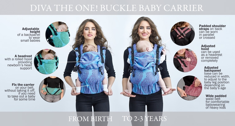 42c089ffd99 a fully adjustable backpanel (both in width and height) provides ergonomic  position for babies of any age