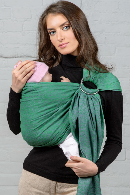 Diva Basico 100% cotton: Aloe Ring Sling