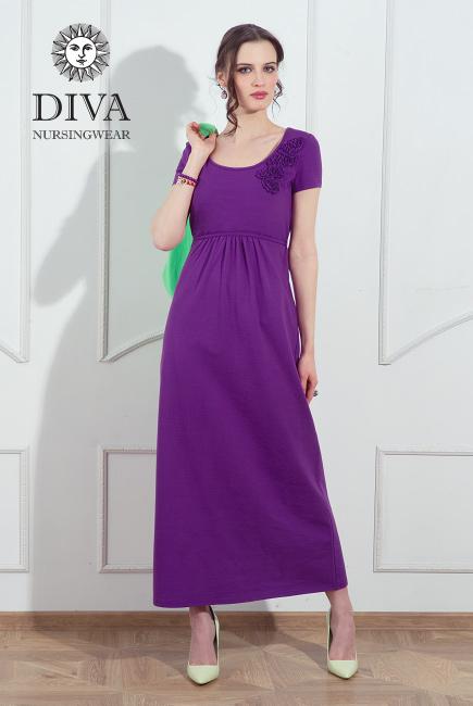 Nursing Dress Diva Nursingwear Dalia, Viola