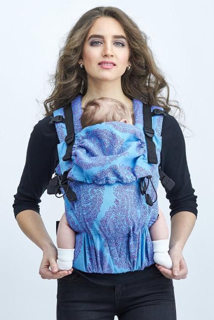 Diva Essenza Wrap Conversion Buckle Carrier: Celeste, The One!