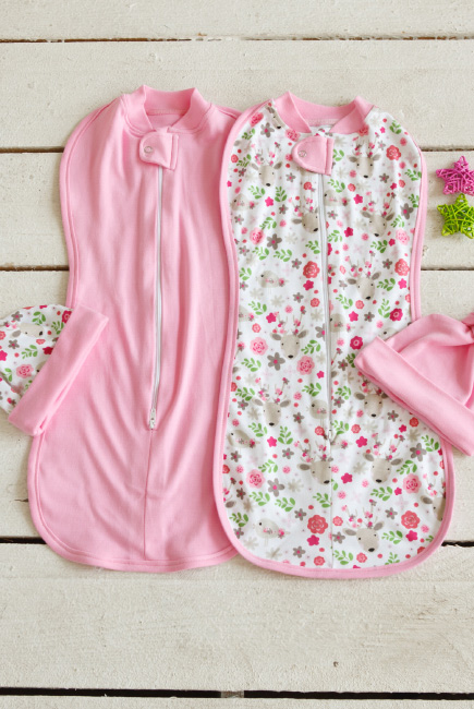 Swaddle Pods Set, Flowers