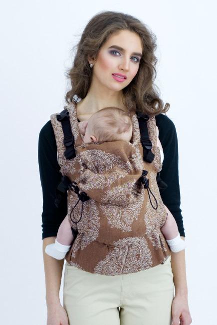 Diva Essenza Wrap Conversion Buckle Carrier: Moka Linen, The One!